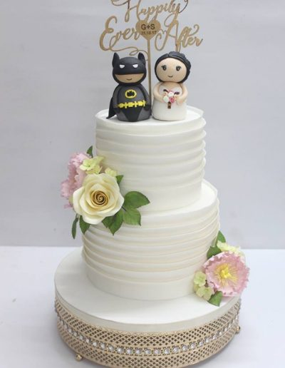 Batman and the Bride Wedding Cake - #18