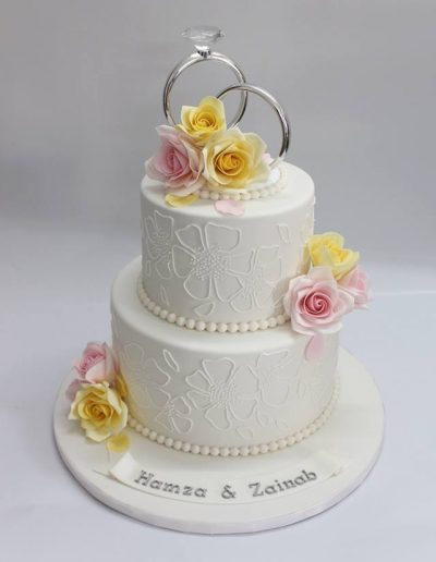 Signature Rose Engagement Cake - #31